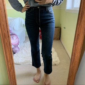 BDG crop flare jeans
